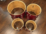 Ludwig 1968 Hollywood Drum Set - Red Sparkle