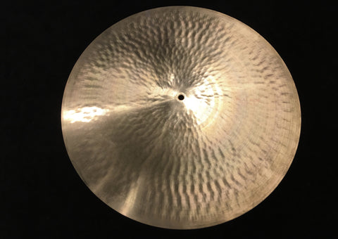 "20"" Paiste 1960s Pre Serial # 602 Medium Flat Ride Cymbal 2384g #418"