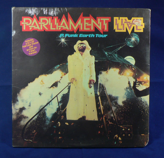 Parliament Live P Funk Earth Tour Double Lp Sealed 1st