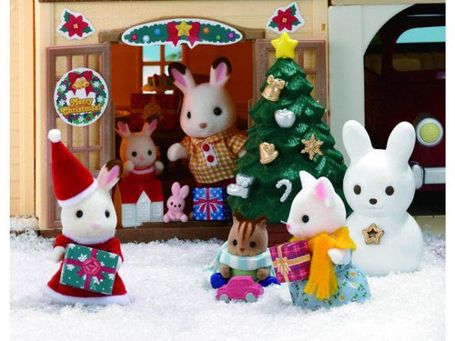 Sylvanian Families Christmas Santa Chocolate Rabbit