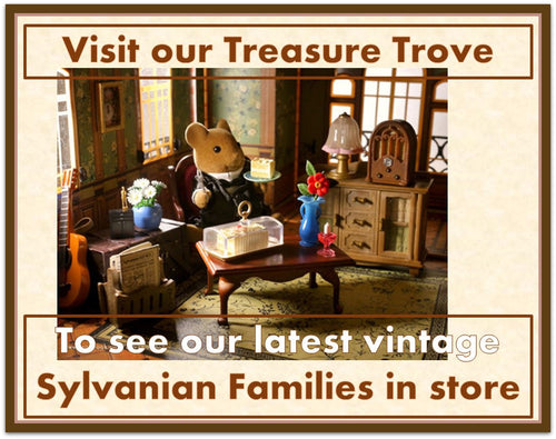 Sylvanian Families rare and collectible vintage items