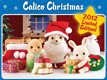 Calico Critter Christmas set 2012 limited edition Sylvanian