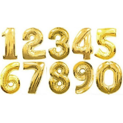14 Inch Foil Numbers