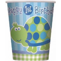 1st b/Day Turtle 9oz Cups