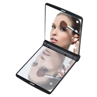 Compact LED Makeup Mirror