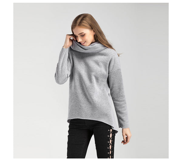 Kayla Winter Scarf Collar Pullover