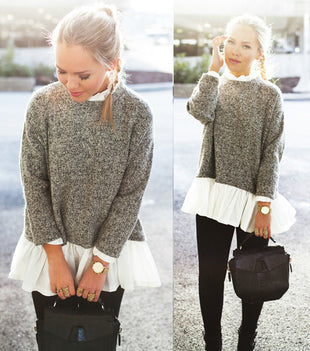 Nina Loose Knitted Sweater