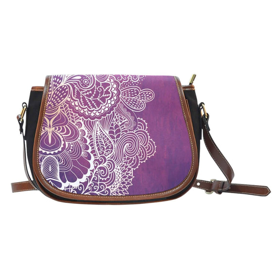 Heart Ripple Saddle Bag