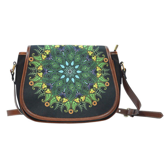 Nature Mandala Saddle Bag
