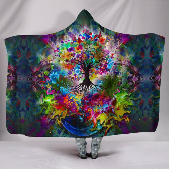 Tree Of Life Hooded Blanket