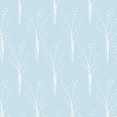 Papel Mural Nordic Light Blue