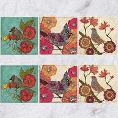 Posavasos Birds Collection - Galeria Impresionarte