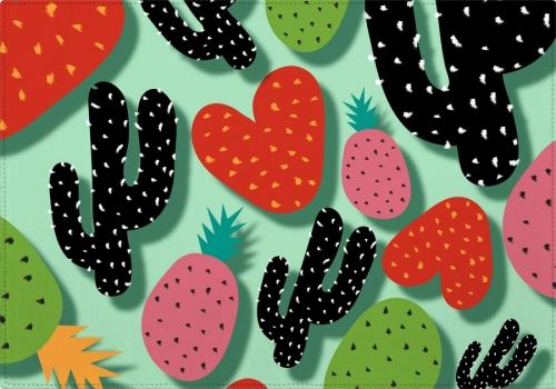 Individuales Cactus Love and Pineapples