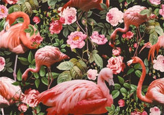 Individuales Floral and Flamingo Pattern - Galeria Impresionarte