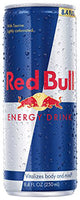 Red Bull Energy Drink Can 16 Oz.