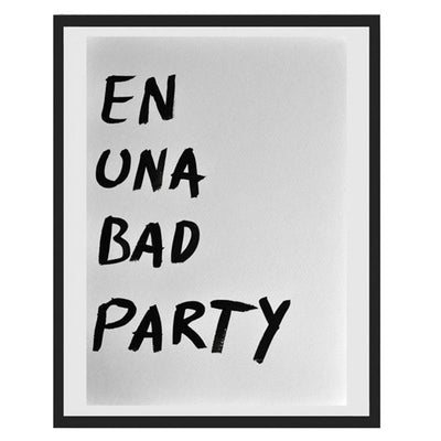 Pintura Juan Uribe - En una bad party