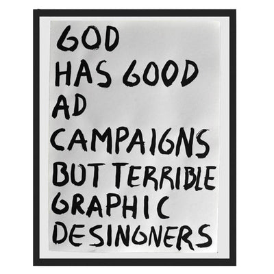 Pintura Juan Uribe - God has good ad campaigns