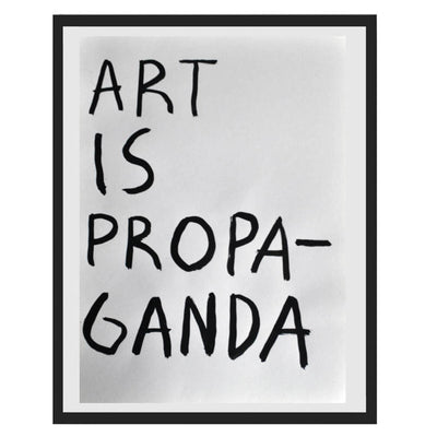 Pintura Juan Uribe - Art is propaganda