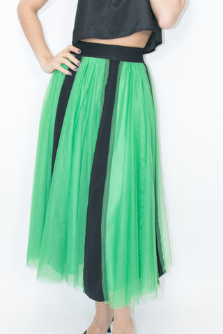 C1932 SKIRT (RED, GREEN, YELLOW, WHITE)