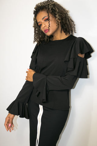 A1870 TOP (black) (3 for $50 SPECIAL)