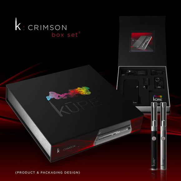 Kure Crimson Kit - Kure Vapes
