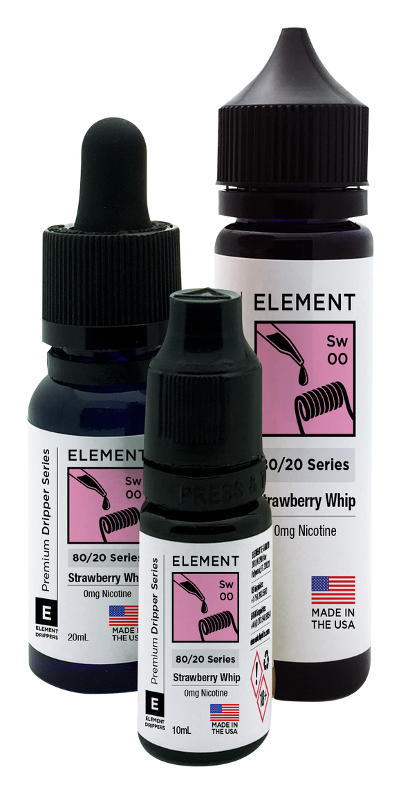 Element - Strawberry Whip - Kure Vapes
