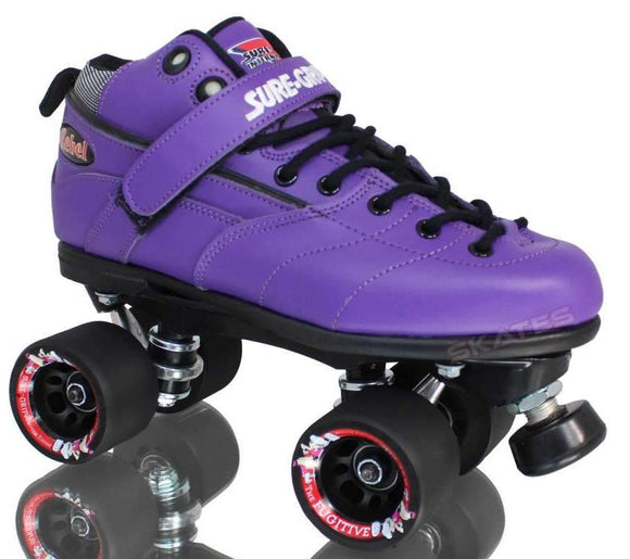 Suregrip Rebel Purple Skates