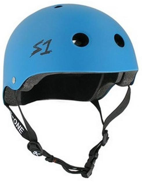 S1 Lifer Helmet Matte Cyan Blue
