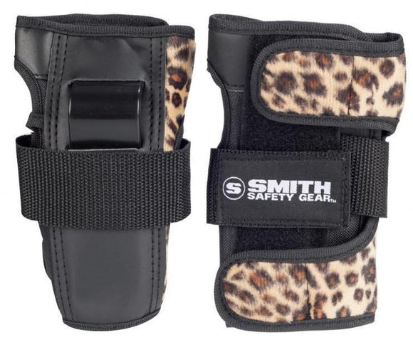 Smith Scabs Wristguards Leopard Brown