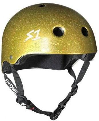 S1 Lifer Helmet Gold Glitter