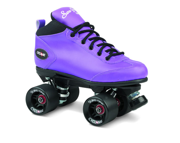 SureGrip Cyclone Purple Skates