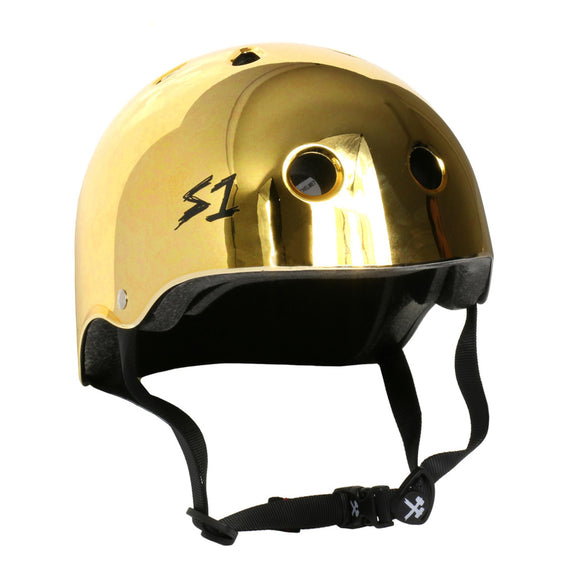 S1 Lifer Helmet Mirror Gold