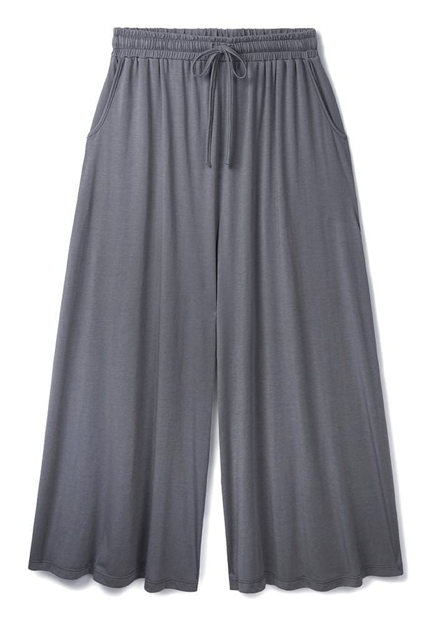 Stone Wide Leg Culottes in 37.5® Technology Jersey