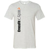 CrossFit Cajir - 100 - Vertical - Bella + Canvas - Men's Short Sleeve Jersey Tee