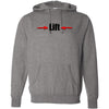 CrossFit Iron Dust - 201 - Lift - Independent - Hooded Pullover Sweatshirt