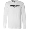 CrossFit North Phoenix - 100 - 1 Sided Print - Bella + Canvas 3501 - Men's Long Sleeve Jersey Tee