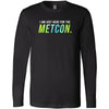 AMP Premium - 100 - Metcon-a-holic - Bella + Canvas 3501 - Men's Long Sleeve Jersey Tee