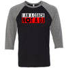 AMP Premium - 100 - Wheels of Steel - Bella + Canvas - Men's Three-Quarter Sleeve Baseball T-Shirt