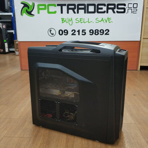 CoolerMaster Storm Custom Built Ex Lease Gaming PC i7-4790 3.6GHz 16GB 750GB HDD 2GB GeForce GTX 570 DVD-RW Windows 10 Home - PC Traders New Zealand
