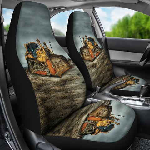 Image of Best Heavy Bulldozer Car Seat Covers