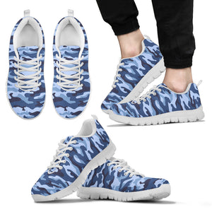 Camouflage Blue Camo Urban Sneakers Set A