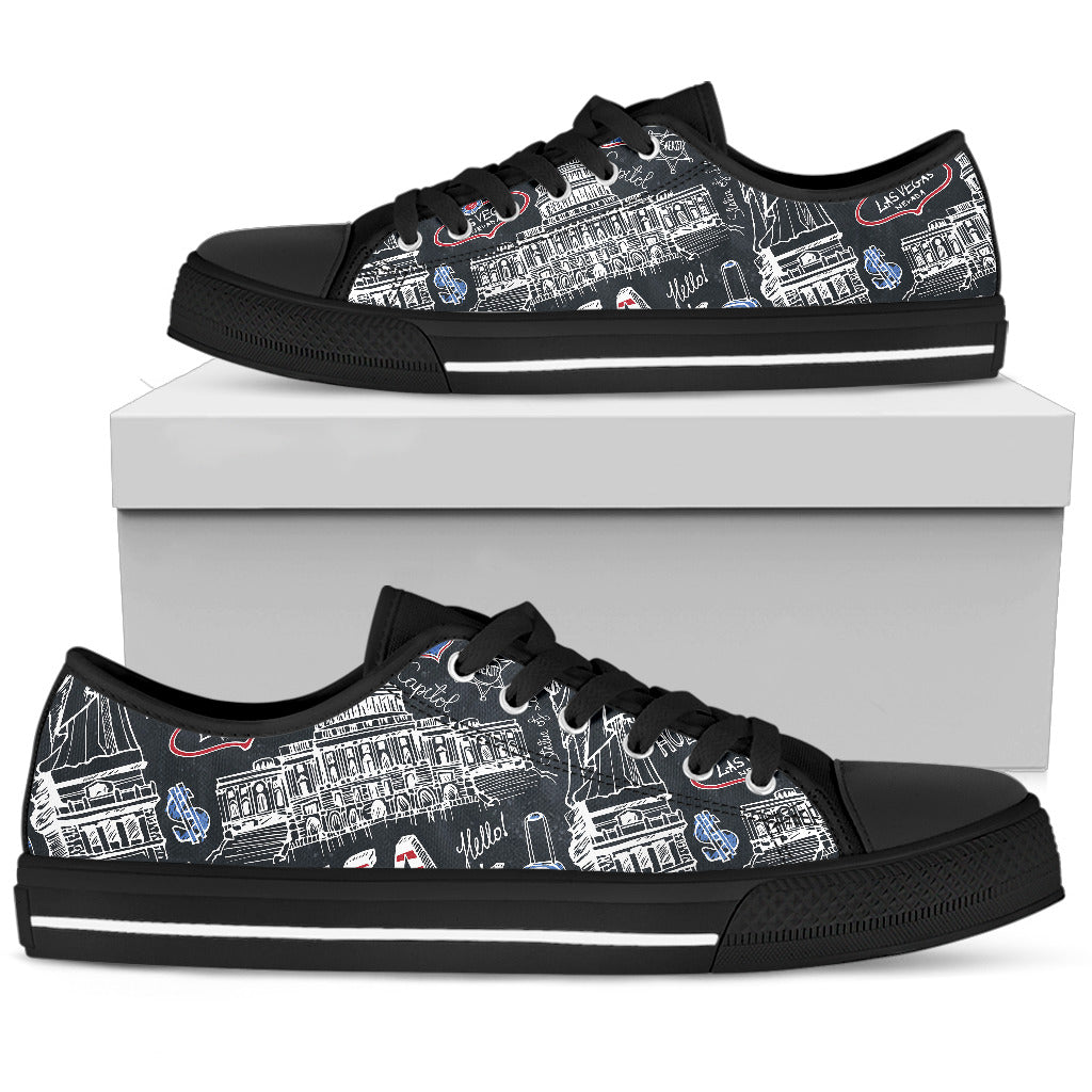 American Lover Low Top Shoes