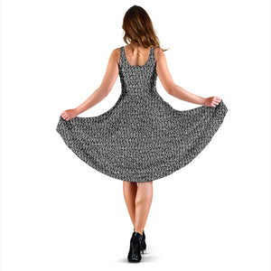 Pi Number Dark Grey Dress