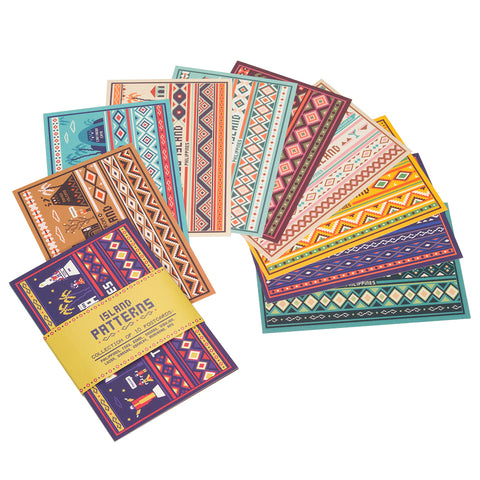 Island Patterns Postcard Set Of 10  Philippine