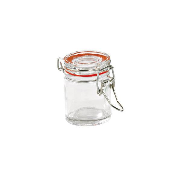 Mini Glass Seal Jars 1.5oz