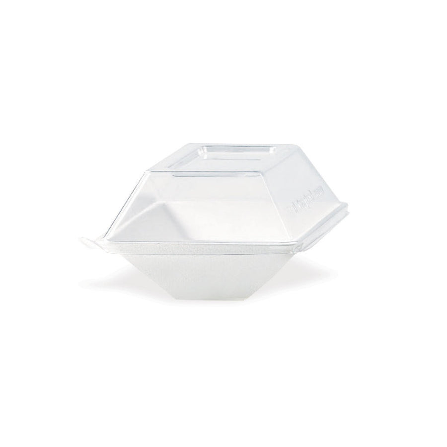 Clear Recyclable Lid for Eco-Design Plates