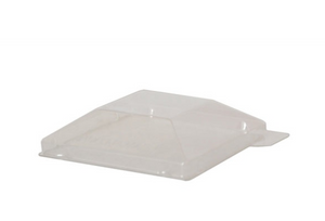 """Klarity"" Clear Pet Lid - 2.5 X 2.5"""