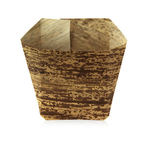 Bamboo Leaf Paper Scoop/Tray - 7oz