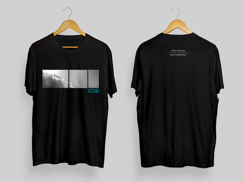 Ferry Corsten X Paul Oakenfold UNITY Collaboration T-Shirt Black