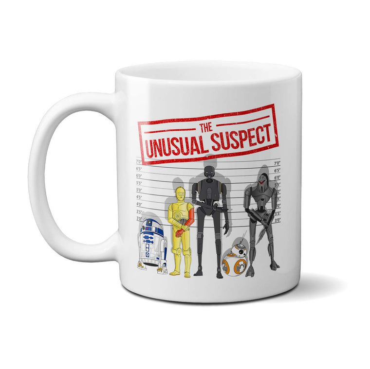 The Unusual Suspect Mug